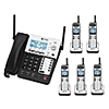 AT&T - Bundle SB67138 Synj 4-line Extendable Range Corded Cordless Phone