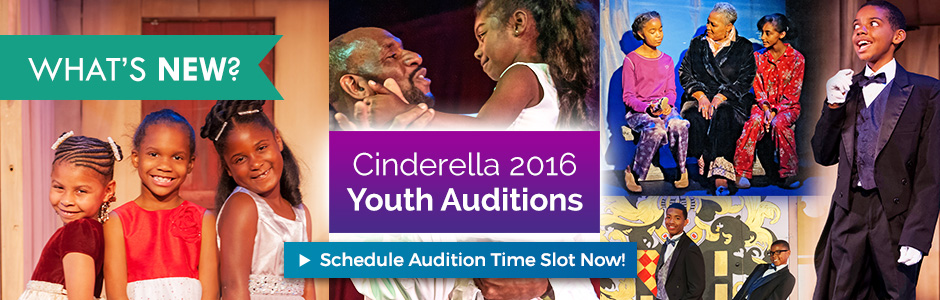 Cinderella 2016 Youth Auditions - Schedule Audition Time Slot Now!