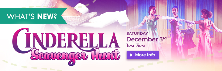 Cinderella Scavenger Hunt – Saturday, December 3, 2016!