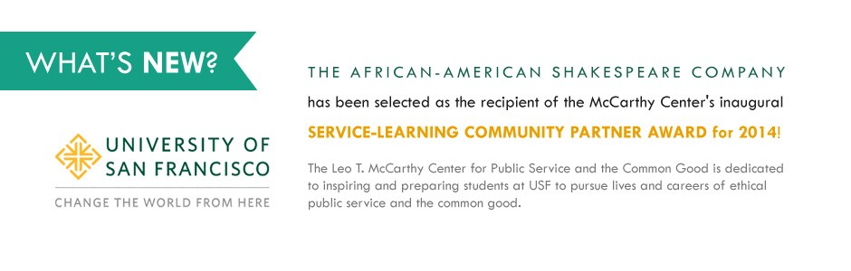 AASC receives the McCarthy Center 2014 Service Learning Community Partner Award!