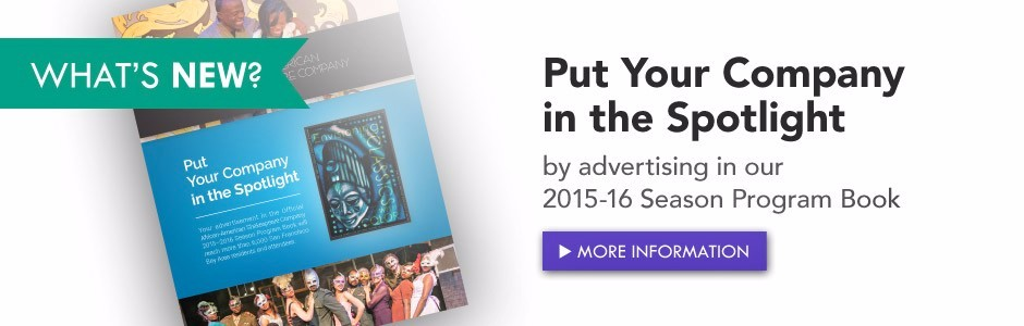 Advertise in our 2015-16 Season Program Book!