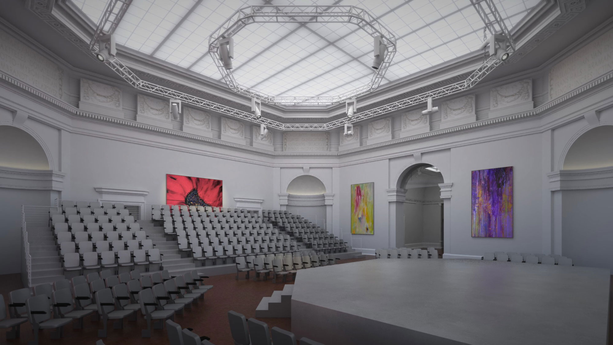Taube Atrium Theater